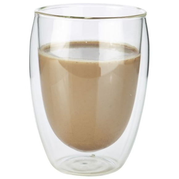 Double Walled Coffee Glasses 12.25 oz (Box of 6)
