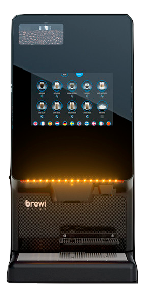 Brewi Eligo Dynamic Touch Screen Bean-to-Cup Machine