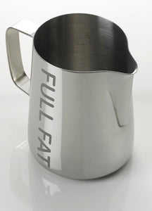 Stainless Steel Worded Foaming Jug - Full Fat (0.6L)