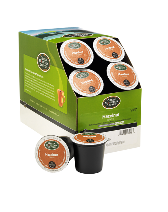 Green Mountain Coffee® Hazelnut (Light Roast) Keurig® K-Cup® Pods