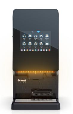 Brewi Eligo Touch Screen Soluble Coffee Machine