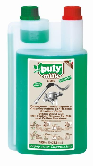 Puly Verde Milk Frother Liquid Cleaner