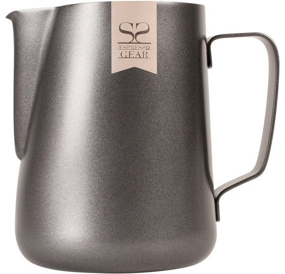 Espresso Gear Teflon Foaming Jug - 0.6L (Black)