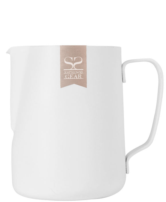 Espresso Gear Teflon Foaming Jug - 0.35L (White)