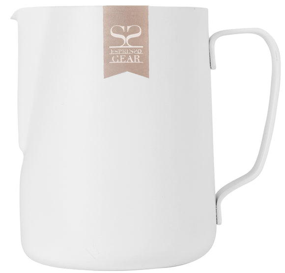 Espresso Gear Teflon Foaming Jug - 0.6L (White)