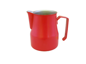 Motta Teflon Foaming Jug - 500ml (Red)