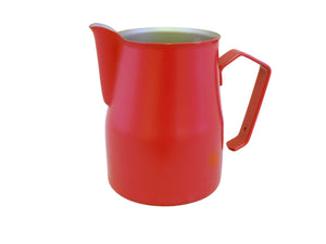 Motta Teflon Foaming Jug - 750ml (Red)