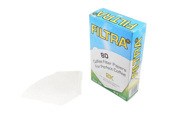 Filtra 2k Paper Filters - Wilfa Drippers