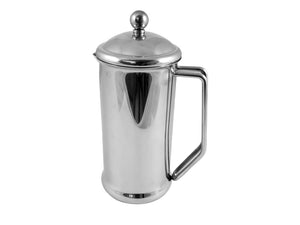 Mirror Finish Stainless Steel Cafetiere - 6 Cup