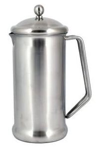 Brushed Finish Stainless Steel Cafetiere - 2 Cup