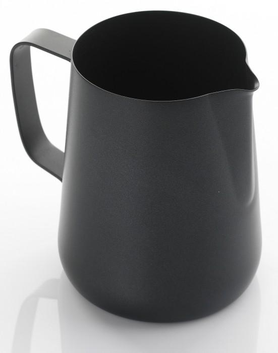 Teflon Milk Foaming Jug - 1 Litre (Black)