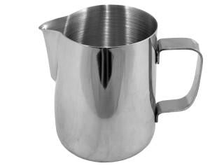 Straight Sided Milk Foaming Jug - 0.6 Litre