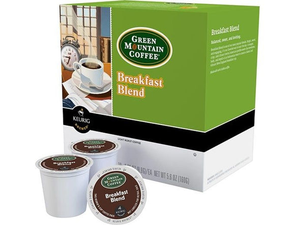 Green Mountain Coffee® Breakfast Blend Keurig® (Light Roast) K-Cup® Pods