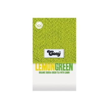 Cosy Lemon Green Tagged Tea Bags
