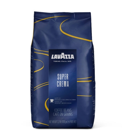 Lavazza Super Crema Coffee Beans (Case)
