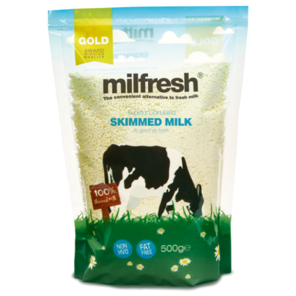 Milfresh Gold Granulated Skimmed Milk Case (10 x 500G)