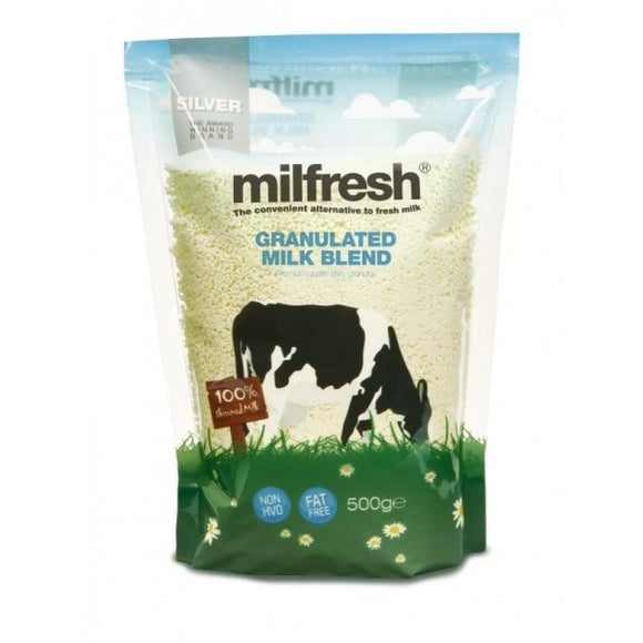 Milfresh Silver Granulated Skimmed Milk Case (10 x 500G)