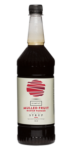 Simply Mulled Fruit Winter Warmer Syrup (1 Litre)