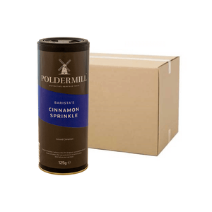Poldermill Cinnamon Sprinkle 125G (Case of 6)