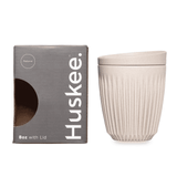 HuskeeCup 8oz Cup & Lid - Single Pack (Natural)