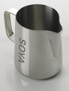 Stainless Steel Worded Foaming Jug - Soya (1L)