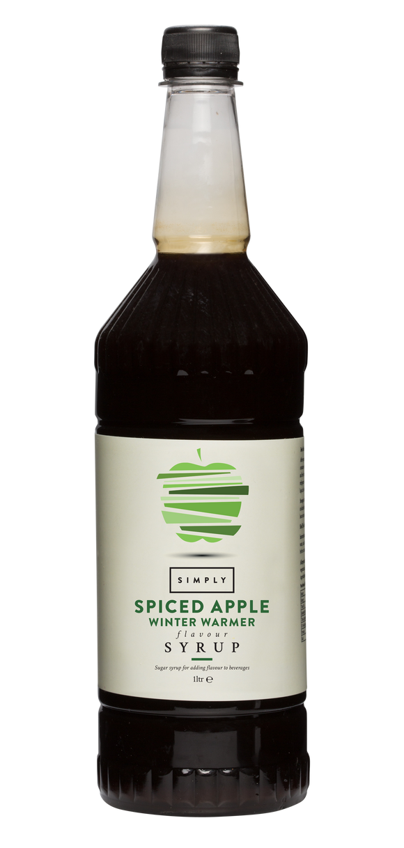 Simply Spiced Apple Winter Warmer Syrup (1 Litre Bottle)