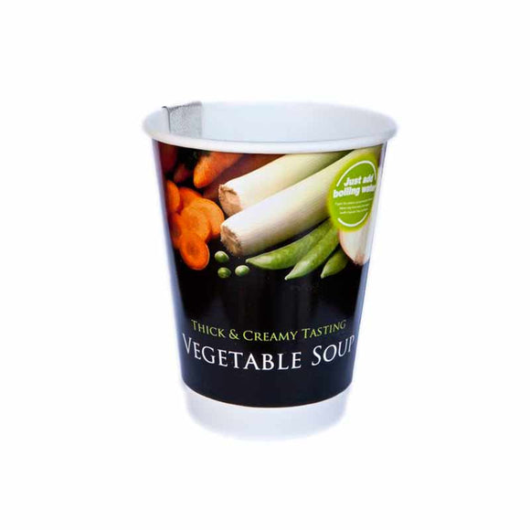2GO Thick & Creamy Vegetable Soup (CASE) - SHORT EXPIRY DATE