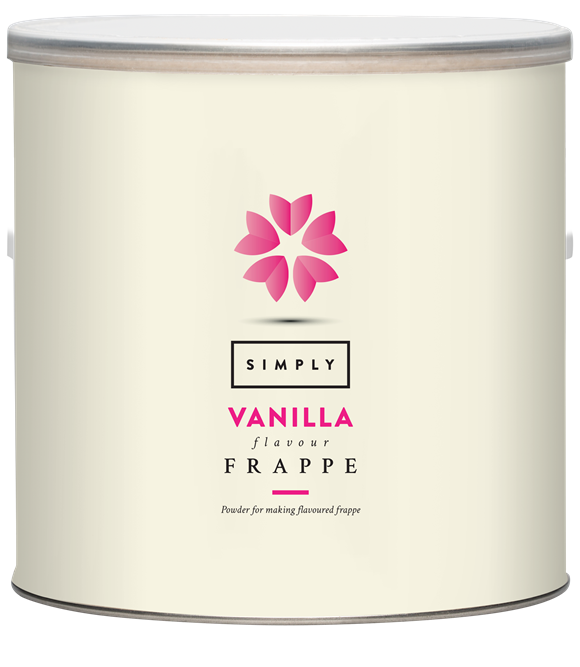 Simply Vanilla Frappe Powder (1.75KG Tin)