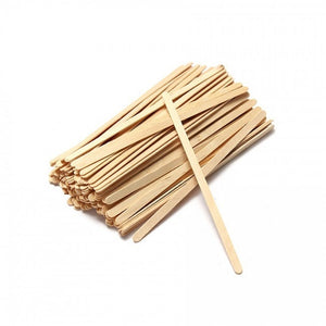 "Biodegradable 5.5"" (140cm) Wooden Stirrers (Box of 1000)"