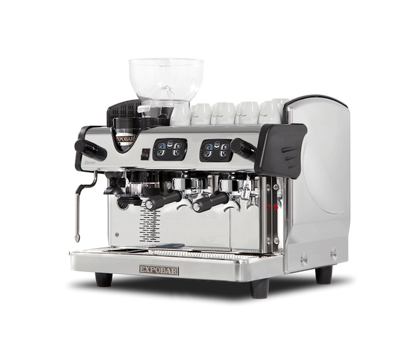 Zircon 2 Group with Integral Grinder Traditional Espresso Coffee Machine