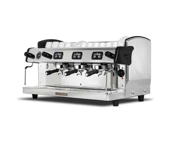 Zircon 3 Group Traditional Espresso Coffee Machine