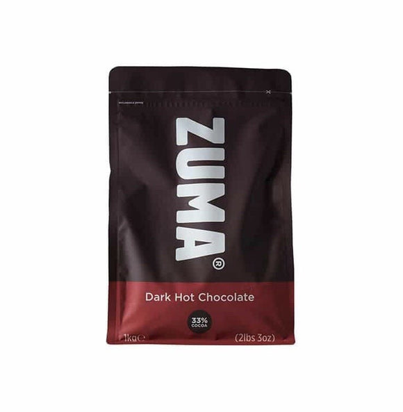 Zuma Dark Vegan Hot Chocolate (1KG Bag)