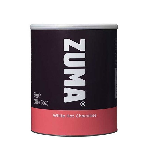 Zuma White Hot Chocolate (2KG Tin) - SHORT EXPIRY DATE