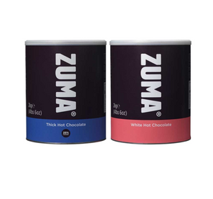 Zuma Thick Hot Chocolate & Zuma White Hot Chocolate (2KG Tins)