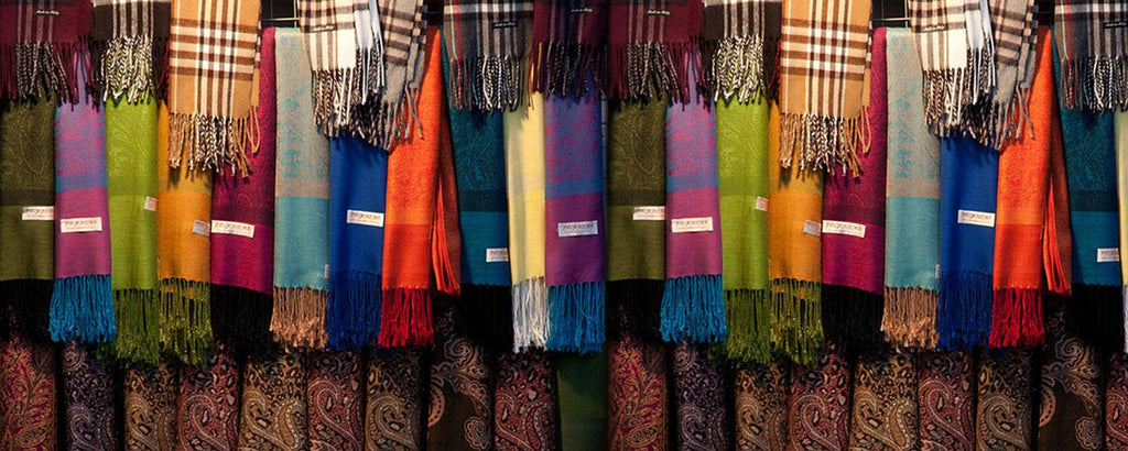 Shopping for Cashmere Pashmina Shawl In India