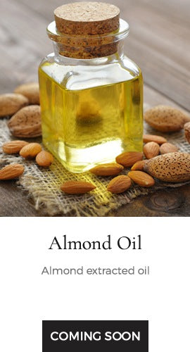Almond extracted oil