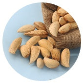Hard shelled almonds home sweet kernels
