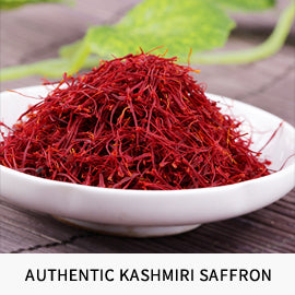 Authentic Kashmiri saffron from pampore