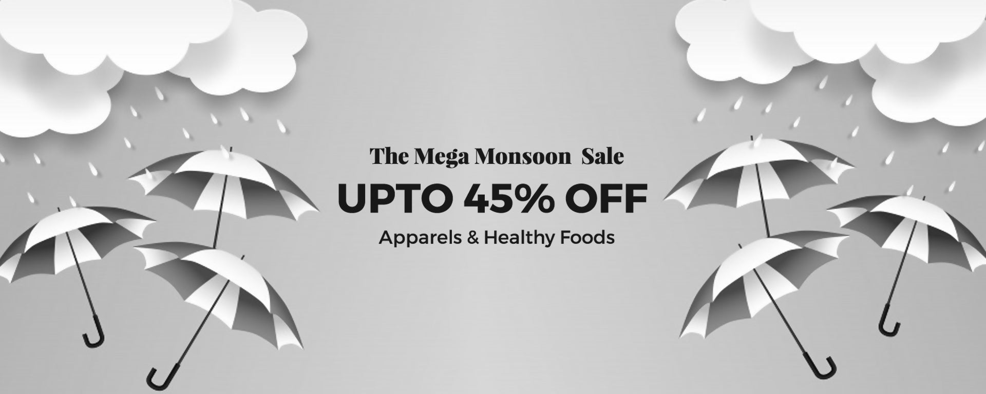 The Mega mid year sale with upto 45% off across healthy foods and apparels.Shop Now.