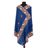 Blue Color Woolen Shawl