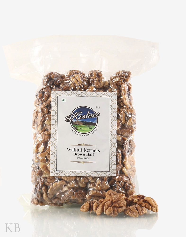 Brown Half Walnut Kernels Koshur