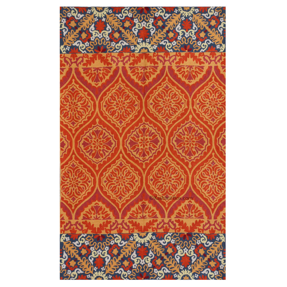 Classic Handmade Patterned Rug