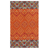 Classic Handmade Patterned Rug - Kashmir Box