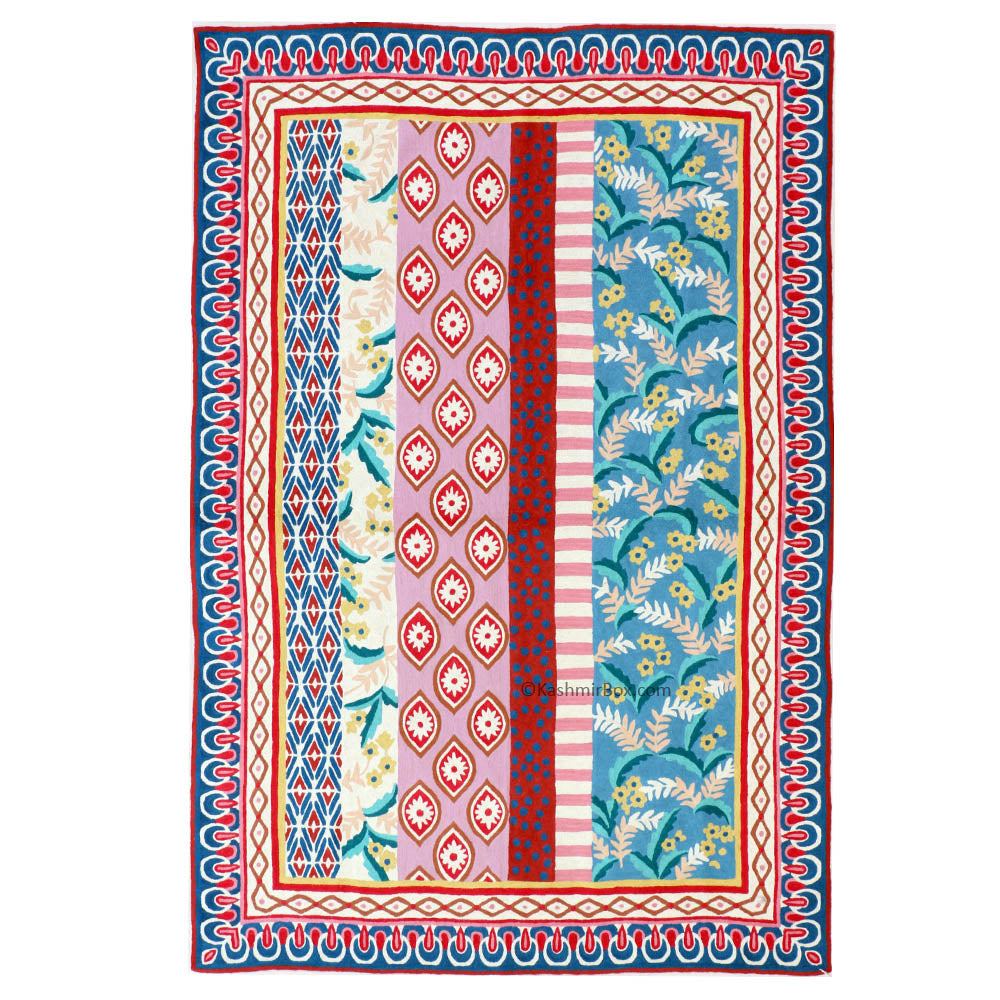 Exquisite Handmade Patterned Rug