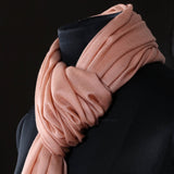 Light Pink Woolen Scarf