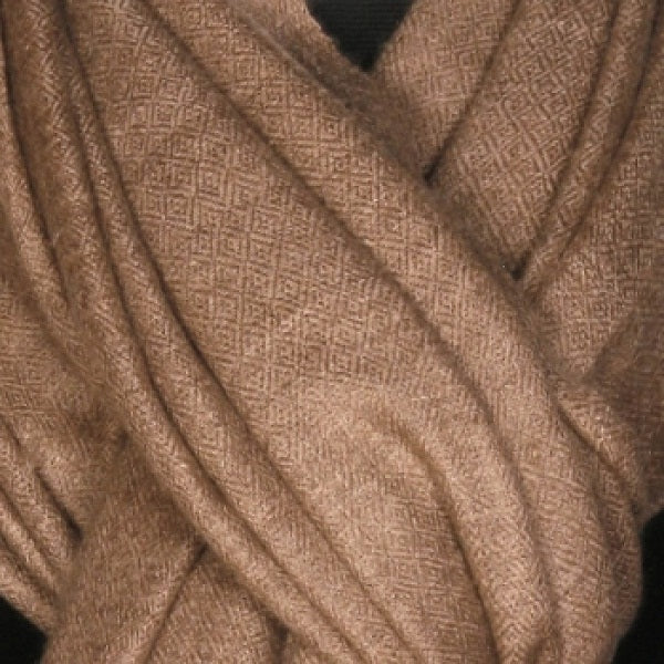 Natural Shade Pure Stole - Kashmir Box