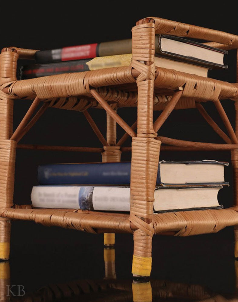 Wicker Willow Book Rack