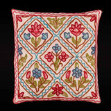 Floral Patch Crewel Cushion Covers (Set of 6)