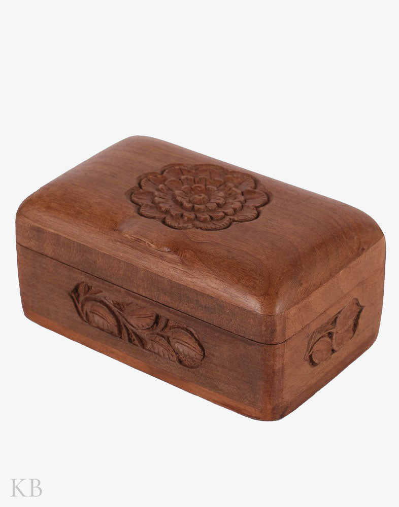 Marigold Walnut Wood Box