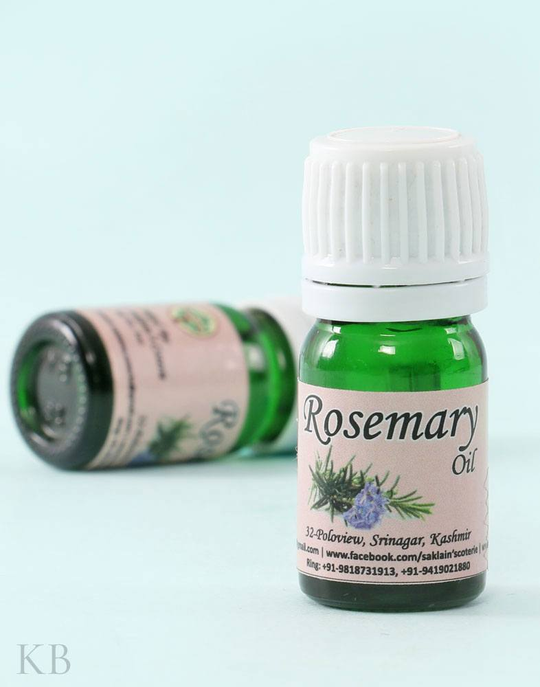 SC Rosemary Essential Oil (Pair) - Kashmir Box
